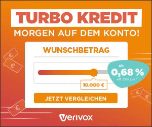 Ratenkredit bei Verivox!